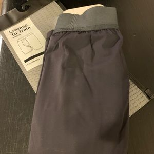 Men's new with tags lululemon compression shorts.